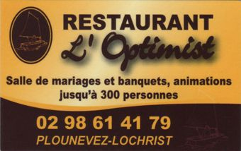 Logo Restaurant L'Optimist